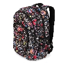 Blackboard Check Drawing Back to School Backpack in Black with Colorful Chalkboard Drawings.