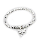 Children\'s Sterling Silver Bracelet with Dragonfly