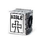 Cheneya Sterling Silver Bible Bead