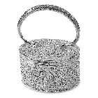 Hatbox Style Purse of Pure Sterling Silver