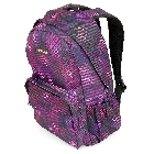 Purple Geometric Pattern Back to School Backpack